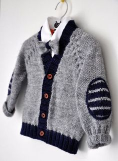 Baby Strickjacke Baby Jungenkleidung Baby Pullover Kinder von EwMik: Baby Strickjacke Baby Jungenkleidung Baby Pullover … - The world's most private search engine Baby Cardigan Knitting Pattern Free, Knitting Patterns Boys, Baby Boy Knitting, Knitting For Kids, Cardigan Bebe, Baby Boy Cardigan, Baby Pullover, Knit Baby Sweaters, Boys Sweaters