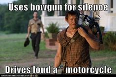 That's our Darryl! #TheWalkingDead