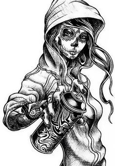 Tumblr Catrina Dibujo Drawings ♡ ♡ Pinterest Dibujo