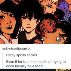 Nico's face though