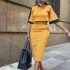 Swans Style is the top online fashion store for women. Shop sexy club dresses, jeans, shoes, bodysuits, skirts and more. Classy Outfits, Chic Outfits, Corporate Fashion, Cooler Look, Work Attire, African Dress, Elegant Dresses, African Fashion, Dress To Impress