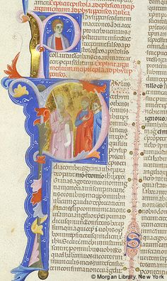 Bible, MS M.436 fol. 398v - Images from Medieval and Renaissance Manuscripts - The Morgan Library & Museum