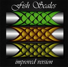 New layout Fish Scales step by step Custom Rod Building Cross Wrap Pattern Facebook Page - Ademir Romano