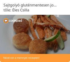 Sajtgolyó gluténmentesen joghurtos majonézzel Baked Potato, Potatoes, Beef, Baking, Ethnic Recipes, Food, Meat, Potato, Bakken