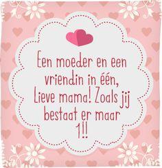 Met dit lieve gedichtje pak je elke moeder in!  #Moederdag #hallmark #hallmarknl…