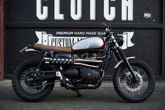 triumph scrambler clutch custom motorcycles paris 4h10.com