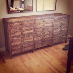 Printmaker Sideboard | Do It Yourself Home Projects from Ana White