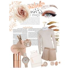 cooper style by emilyisabela-hernandezsantama on Polyvore featuring polyvore beauty Monica Vinader Michael Kors Olivia Burton Cara Want Les Essentiels de la Vie See by Chloé T By Alexander Wang