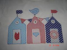 "manualidades ""Pijotadas"": vestidito playero personalizado Textiles, Sewing Pillows, Pot Holders, Patches, Quilts, Crochet, Scrappy Quilts, Tela, Beading"