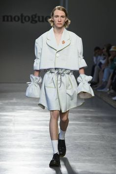 Moto Guo Spring-Summer 2017 - Milan Fashion Week #MFW