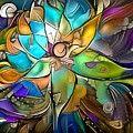 Dark Orchid Digital Art by Amanda Moore