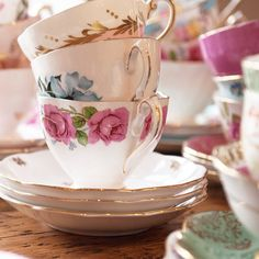 #Vintage #TeaCups #styling