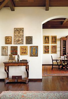Spanish style homes – Mediterranean Home Decor Spanish Colonial Decor, Spanish Style Homes, Spanish House, Spanish Revival, Style Hacienda, Hacienda Decor, Mexican Hacienda, Mexican Interior Design, Spanish Interior