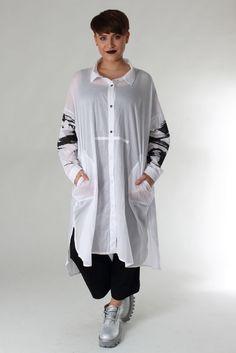 Moyuru Summer 2016 #newfashion #shirt #hemd #print #summer2016 #2016 #fs16 #ss16 #selectmode #selectmodeonline #white #weiß #Druck #Printed #moyuru