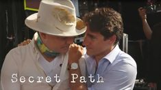 Intimate Moments: Secret Path Backstage with Gord Downie, Pearl Wenjack, and Daisy Munroe - YouTube
