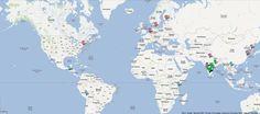 Use um mapa do Google Maps em apresentações do PowerPoint 2010. R2 Creative: Especializada na criação de apresentações profissionais e acadêmicas!  O que você está esperando?