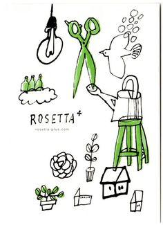遅くなってしまいましたが、夏ごろにさせていただいたDMのお仕事のご案内です。神戸元町にあるヘアサロン『ROSETTA+/ロゼッタプラス』さんのお店の案内D... Amazing Drawings, Art Drawings, Line Drawing, Painting & Drawing, Cute Illustration, Japanese Illustration, Japanese Graphic Design, Illustrations And Posters, Art Festival