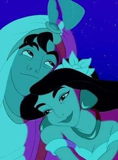 Aladdin and jasmine love - Disney Ideen Walt Disney, Disney Couples, Disney Girls, Disney Magic, Disney Art, Jasmine Disney, Aladdin Et Jasmine, Disney And Dreamworks, Disney Pixar