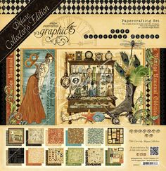 Graphic 45 - Olde Curiosity Shoppe 12x12 Deluxe Collectors Edition (Victorian, Antique, Oddities)