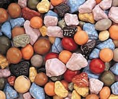Chocolate Rocks Candy Nuggets 1LB Bag