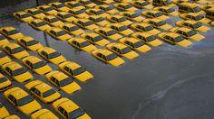La furia del huracán Sandy! **