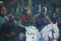La guerre des Gaules: Oil painting Exhibition/ Exposition de peintures à lhuile, illustrations et planches originales à la Galerie Napoléon