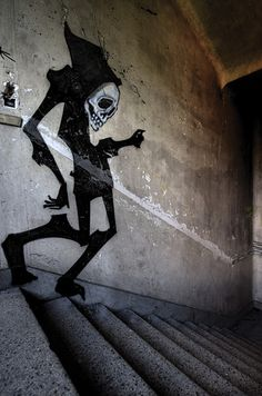 ...follow the shadows.... Urban art