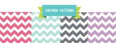 free chevron patterns
