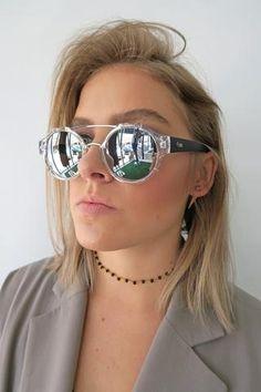 9d9a2e1bf2 Quay It s A Sin Sunglasses CLEAR SILVER MIRROR