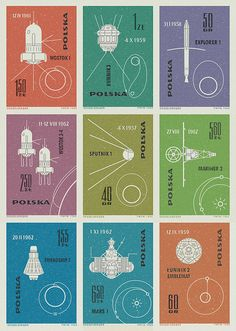 I don't seem to remember the Polish Space Project  Polish Space Stamps 1963