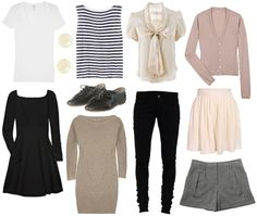 How to Create a Core Wardrobe for Every Season