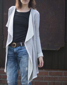 Ein Schnitt den man im Sommer und im Winter tragen kann. Ein Schnitt der gemütlich aber auch elegant ist. Ein Schnitt der aus meinem Kleider...