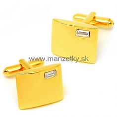 www.manzetky.sk Cufflinks, Gold, Wedding Cufflinks, Yellow