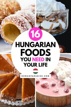 Hungarian Desserts, Hungarian Cuisine, Hungarian Food, Hungarian Recipes, Mexican Food Recipes, Dinner Recipes, Ethnic Recipes, Lunch Ideas, Meal Ideas