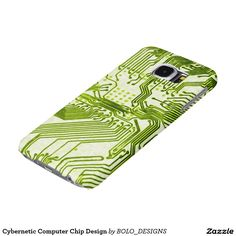 Cybernetic Computer Chip Design Samsung Galaxy S6 Cases