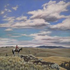 Anita Klein Images of the West - Western Themes Western Theme, Canadian Artists, Westerns, Mountains, Canvas, Nature, Travel, Paintings, Image
