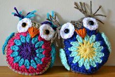 crochet owl free pattern 2