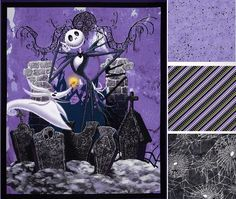 Nightmare Before Christmas Quilt by LannersQuilts on Etsy