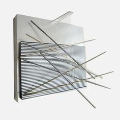 Paddle8:  Jesus Rafael Soto Vibrations Metalliques, 1969
