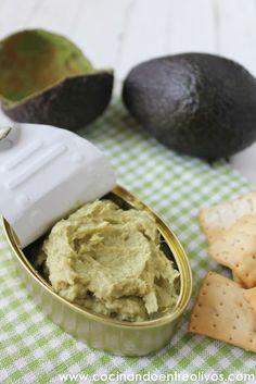 Cocinando entre Olivos: Paté de aguacate y bonito. Receta paso a paso.