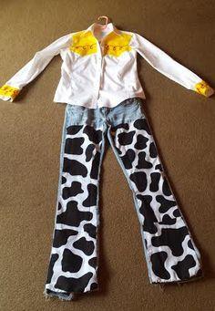 Diy toy story jessie costume because pinterest diy toys happy friday frugal diy mom friendly costume solutioingenieria Gallery