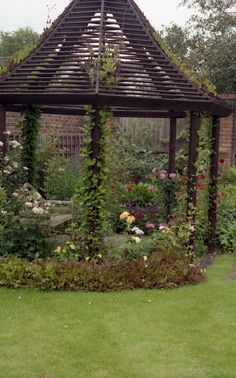 Gazebo, would look great in the woods behind the house