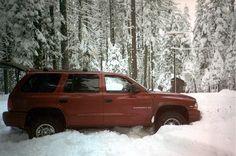 '99 Dodge Durango, Fun in the snow!