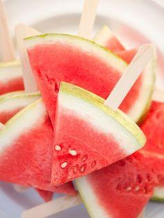 Un snack ideal para una fiesta de verano! / An ideal summer party snack!