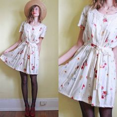 Perfect spring time outfit!! Would be cute for a pic-nic ;)