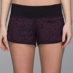 bd2a487b3a Lululemon Run: Speed Short Stretch - Star Crushed Black Cherry Black / Black  - lulu fanatics