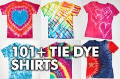 Awesome Tie Dye Shirt DIYs
