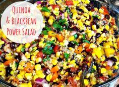 Buttergirl Diaries | A Life + Style Blog: Quinoa & Blackbean Power Salad {Recipe}