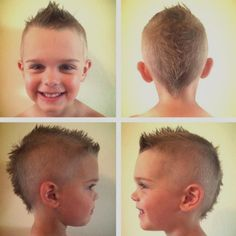 Fabulous 20 Awesome And Edgy Mohawks For Kids Kid Boys And For Kids Short Hairstyles For Black Women Fulllsitofus