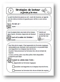 Teacher Charlotte: Inférences, connecteurs, substituts: exercices d'entrainement Reading Resources, Teaching Reading, Teaching Tools, Learning, French Worksheets, Reading Comprehension Passages, French Classroom, Teacher Organization, Teaching French